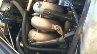 how to change spark plugs in a Ford falcon xr6 BA
