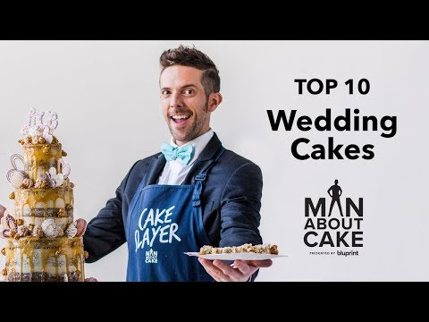 Top 10 Unique Wedding Cakes from Man About Cake | A Countdown with Brandon & James