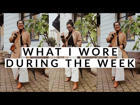 //WHAT I WORE DURING THE WEEK// VLOG STYLE