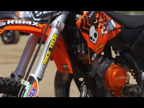 Upgrade - Race Tech's KTM 65SX Fork Internals - TransWorld Motocross
