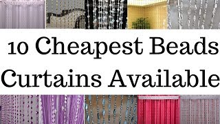 10 Cheapest Beads Curtains Available Online
