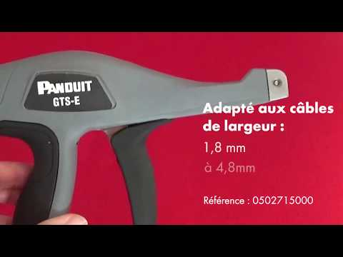 Pince attache-câble ergonomique