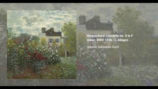 Harpsichord Concerto no. 5 in F minor, BWV 1056
