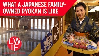 What a Family-Owned Ryokan is Like (Traditional Japanese Inn & Hot Springs)