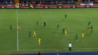 AFCON 2019   Mali Vs Mauritania First Goal By  Abdoulaye Diaby