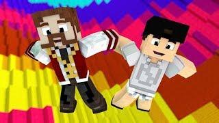 Minecraft SUPER QUEDA #1 - ESTAMOS PRESOS NESTE MUNDO ?! (c/ Luiz)