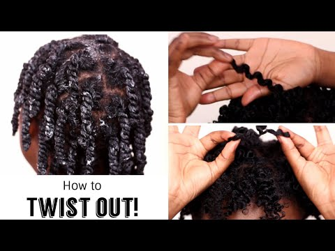 Get the PERFECT twist out EVERY TIME on short natural hair | Type 4A/4B/4C Hair