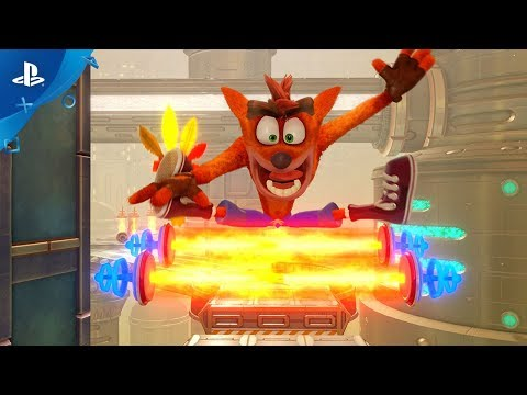 Présentation Future Tense de Crash Bandicoot N.Sane Trilogy