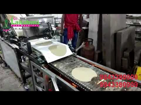 Fully Automatic Chapati Making Machine Conveyor Type