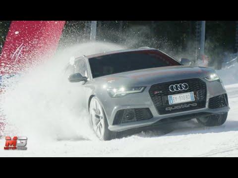 Audi  RS6 Avant Универсал класса A - рекламное видео 3