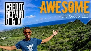 AWESOME LIFE GROUP CREDIT REPAIR Q & A || PAY FOR DELETED WORKED || BANKRUPTCY REMOVAL