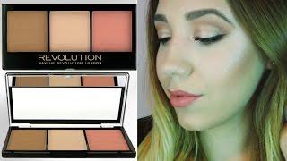 Paleta de contorno LOW COST - Kit de Contorno Ultra -Makeup Revolution-  / Kalipodecola