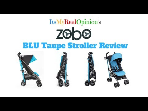 Zobo BRU Stroller Review