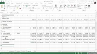 How to model a balance sheet | Pluralsight