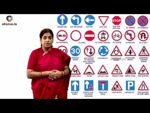 Traffic Education || 9th Class Social Studies (2018) (With latest Rules)
