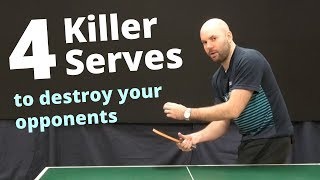 4 Killer Serves To Destroy Your Opponents (with Craig Bryant)