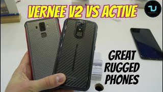 Vernee V2 vs Vernee Active Comparison/Side by Side/Which one to buy?