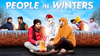 PEOPLE IN WINTERS | Indians In Winters | Awanish Singh