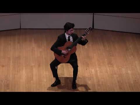 My performance of Jorge Morel's Danza in E Minor at a VCU Student Recital in 2018.