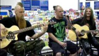 5 Five Finger Death Punch plays The Bleeding acoustic LIVE Best Buy