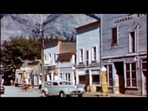 Lillooet and area from a 1946 tourism promotion film called Rails to Romance