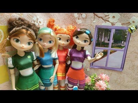 Лучшие друзья вместе.Сказочный патруль куклы.Мультик сказочный патруль