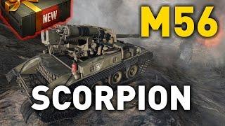 World of Tanks    M56 Scorpion - Tank Review