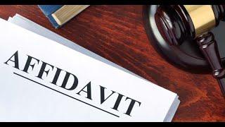Motions vs Affidavits