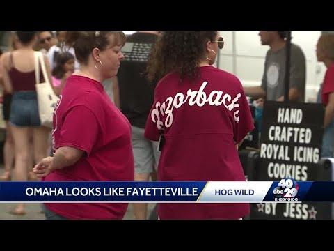 Hog fans flock to Omaha