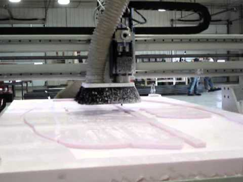 ShopSabre CNC Router – Foam Sign Cutvideo thumb