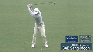 [1080P HD] BAE Sang-Moon 2013 Hybrid Wood with Practice Golf Swing (2)_European Tour