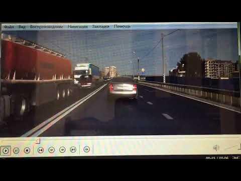 Конфликт на дороге в Краснодаре