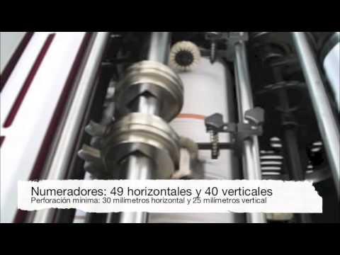 Numeradora y perforadora Expomaq EX-NP460