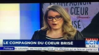 """Entrevue LCN pour """"Le compagnon du cœur brisé"""