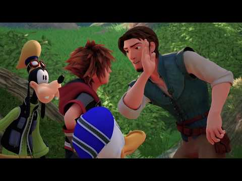 KINGDOM HEARTS III – LUCCA 2018 Tangled Trailer (Closed Captions) thumbnail