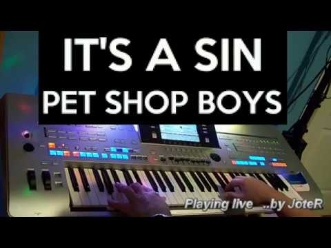 Pet Shop Boys - It's a sin (Synth Sound Intro) with Korg