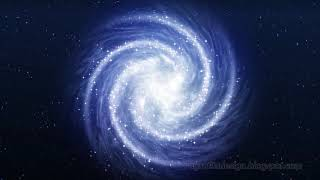 View Of Spiral Shape Of The Galaxy Milky Way In Space Of The Universe