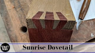 Making a Sunrise Dovetail Joint