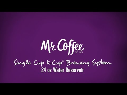 , Mr. Coffee BVMC-SC500-1 Single K-Cup Brewing System, 24 oz, Black