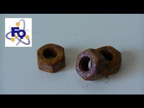 Fq experimentos 269 eliminar el xido con bebidas gaseosas - Quitar oxido coca cola ...