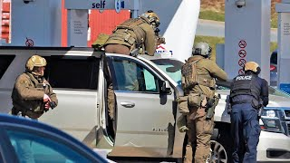 video: Canada shooting: Gunman leaves at least 16 dead including a police officer