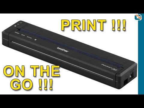 Brother PJ-763 A4 Mobile Printer Review