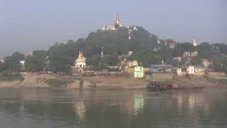 preview picture of video 'Ayeyarwady River Mandalay to Bagan'
