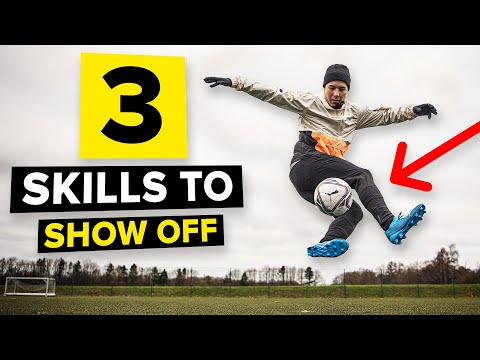 3 show-off football skills | Unnecessary but cool!
