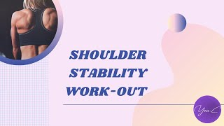 FITNESS 101 EP#14 : SHOULDER STABILITY WORKOUT ✨ GET FIT #23