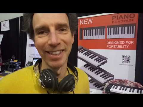 VIDEO Cool things at NAMM 2019 Portable Stack-able Piano USB