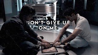 Sam & Dean • Don't Give Up On Me (4K!!!)