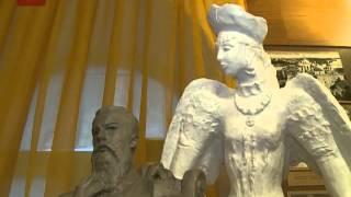 Коллекцию музея Новгородского областного колледжа искусств дополнила новая скульптурная композиция