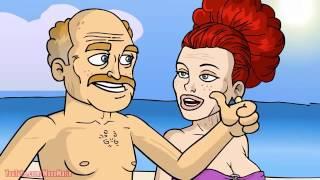 vacaciones en la playa-El mono Mario(animado)2015