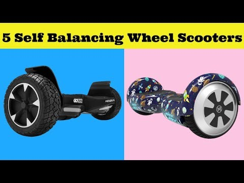 Best 5 Self Balancing Wheel Scooters 2019 On Amazon - Multimedia Balancing Wheel Scooters
